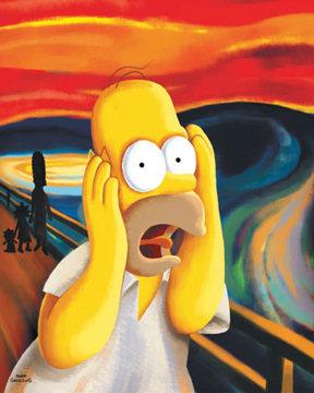 Homer Simpson Screaming