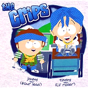 crips-south-park-t-shirt