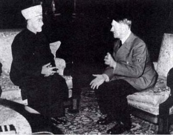 Hitler and the Grand Mufti.