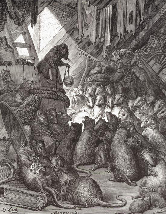 Gustave Dore illustrerar konformismen