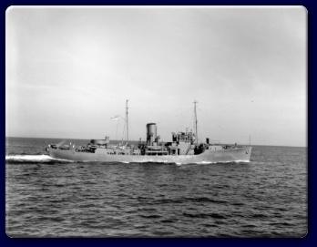 HMCS Agassiz, Spring 1941