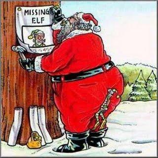 missing elf cartoon