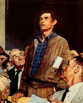 TownHallNormanRockwell