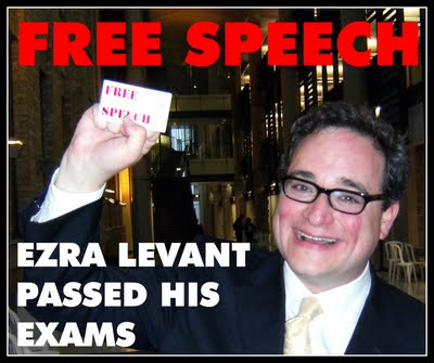 Ezra Levant Passed His exams