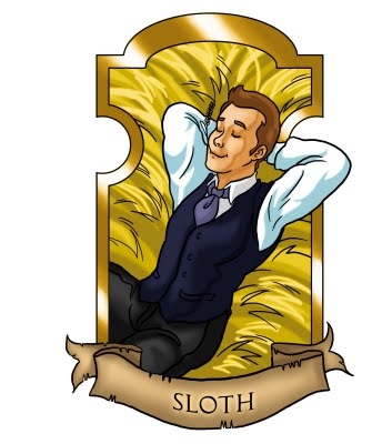 7 deadly sins SLoth male copy