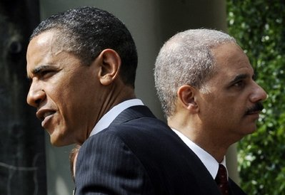 Barack Obama, Eric Holder