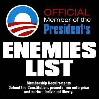 Obama's enemies list