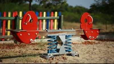 stock-footage-empty-playground