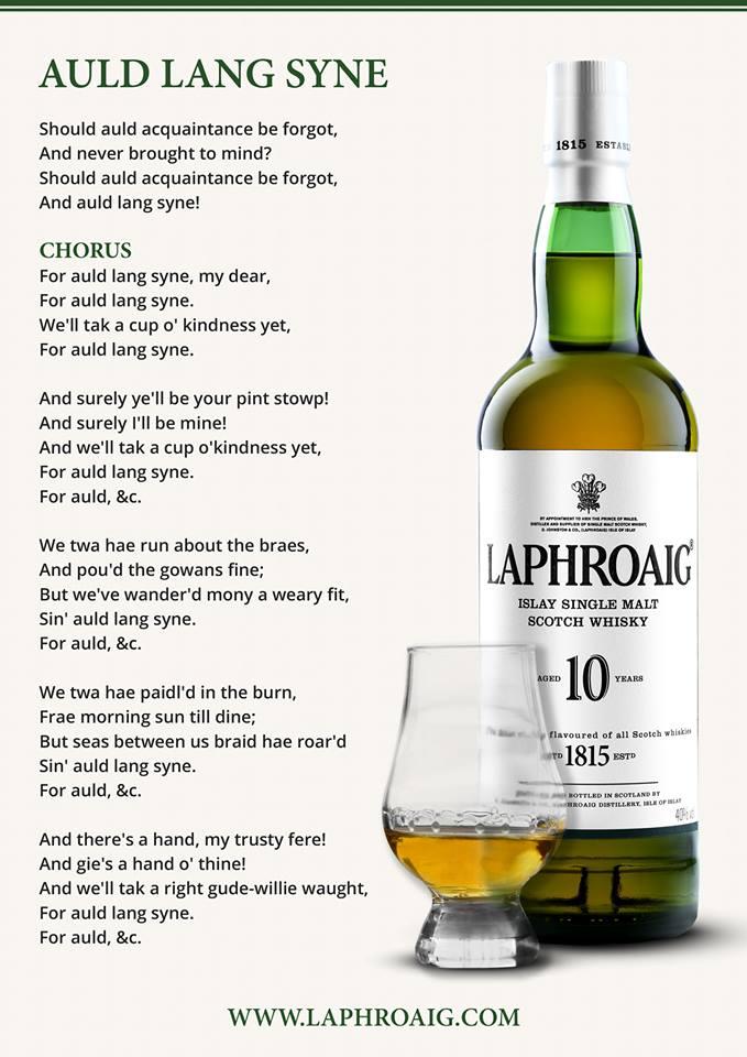 Never Had Haggis.. But Whisky? Aye!
