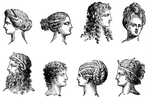 Plus, spiffy hairdos.