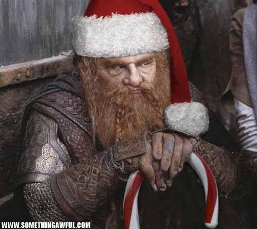Hobbit III.  Just in time for Christmas? Bah, humbug.