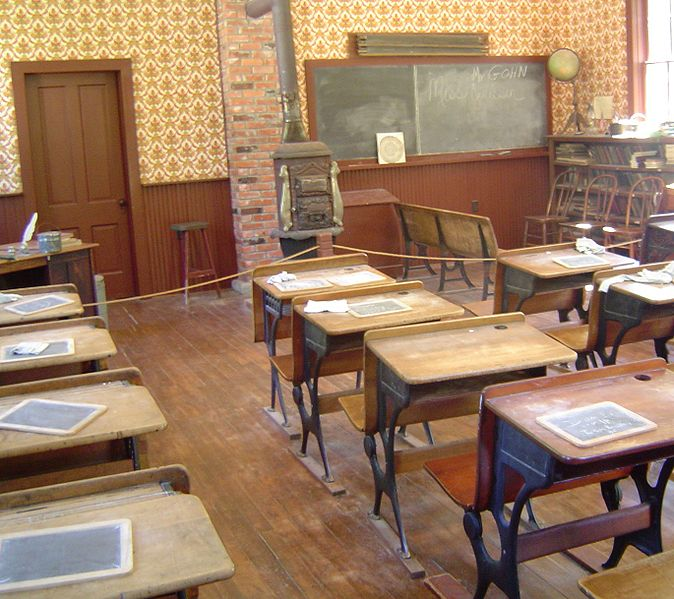 One Room Schoolhouses: the nursery of greatness.