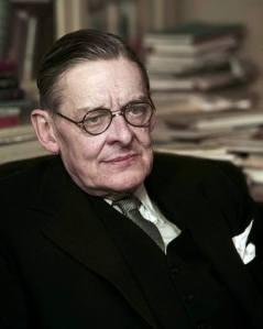 T.S. Eliot, prophetical poet & essayist.