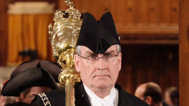 Sergeant at Arms Kevin Vickers