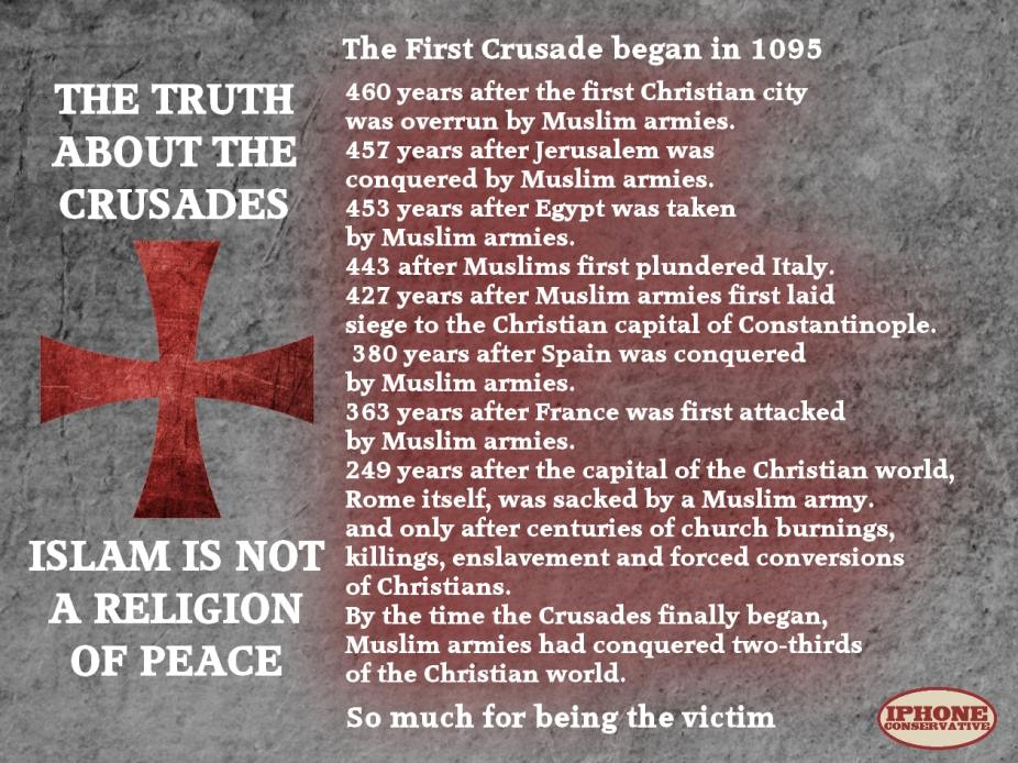 a history of the crusades the holy wars of the catholic church Opponents of the church demand to know, how can the catholic church be the   how can a truly christian church be responsible for bloody religious wars,  when  history and will positively empower you to better defend the church that .