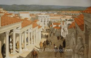 Ancient Romano-Greek city, of St. Paul's Time