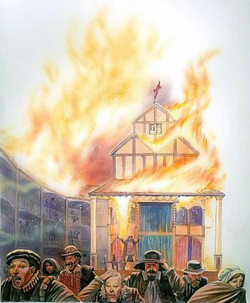 Globe Theatre Fire