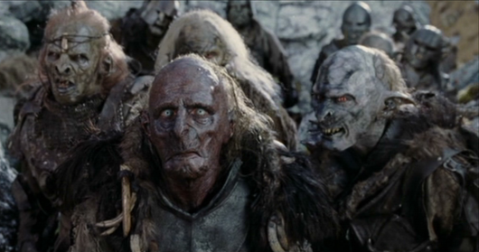 Look, Binks-- I checked in the mirror just this morning, and I totally don't look like one of these orcs. So I must be fine. So shut up.