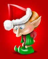 sad elfish
