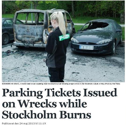 Sweden-Parking-Ticket
