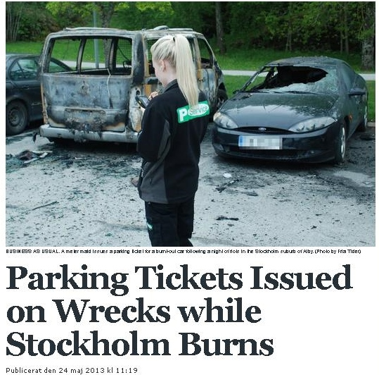 Sweden-Parking-Ticket